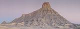 Panoramic, landscape, utah, sunrise, butte, factory, shale, erosion, photographie, panoramique, lever de soleil